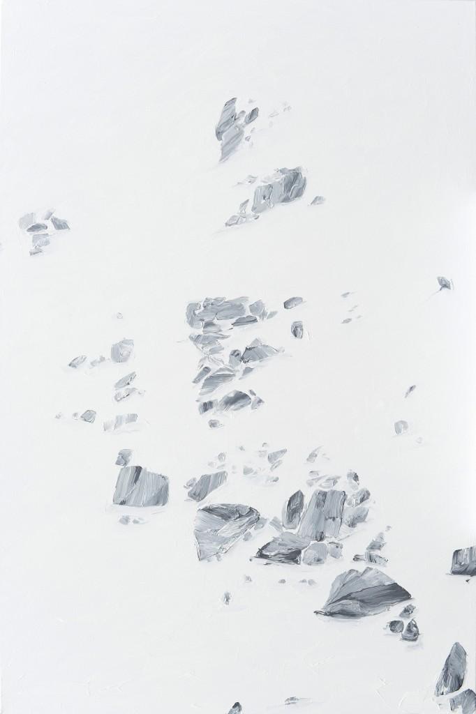 AL 105 sans titre (montagne) 2014 huile sur toile 150x100cm Courtesy Farideh Cadot & artist