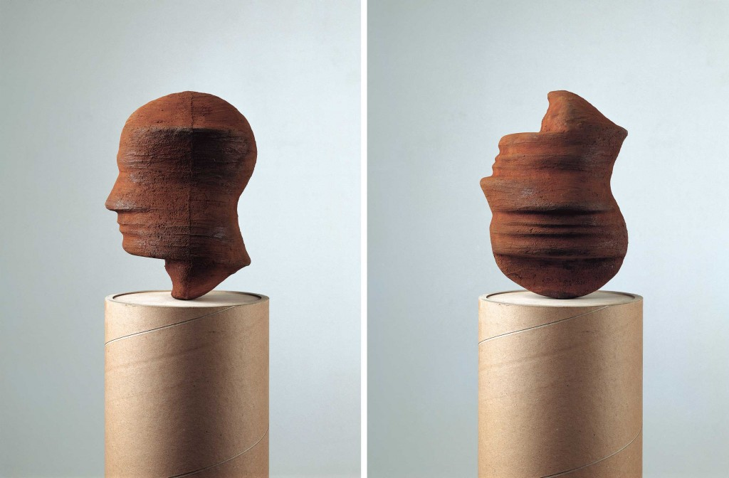 MARKUS RAETZ, Kopf, 1992, Fonte d'après modèle en plâtre, courtesy Farideh Cadot & the Artist.
