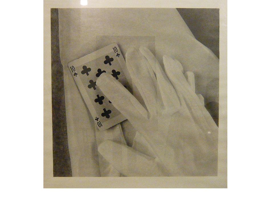 Jorge Molder, The sense of the sleight of hand man, 1994, gelatine silver print, 109 x 109 cm, courtesy Farideh Cadot & the artist