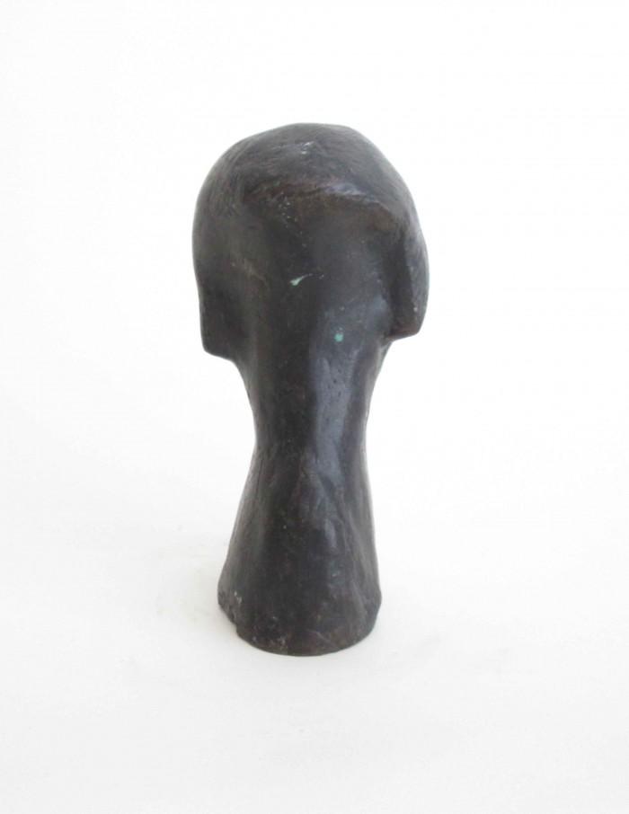 Joel Fisher, Study for Abdut, 2011, bronze, 16 x 9 x 7 cm, courtesy Farideh Cadot & the artist