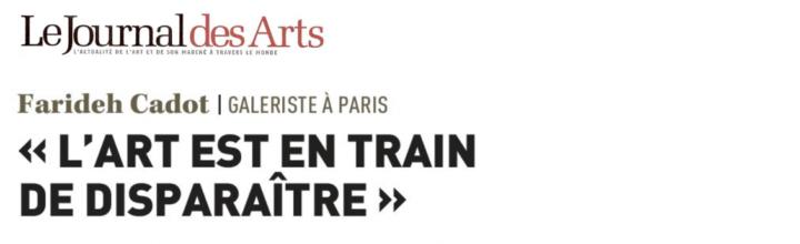 LE JOURNAL DES ARTS – 07.2017