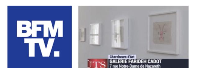 Interview de Farideh Cadot – Chercheurs d'Art sur BFM TV – 29.04.2016