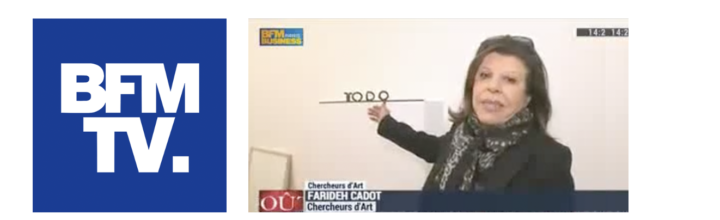 Interview de Farideh Cadot par Olivier de Rincquesen sur BFM TV – 20.02.2015