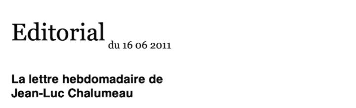 VERSO – 16.06.2011